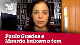 Campanha de Bolsonaro pede que Paulo Guedes e Mourão baixem o tom e evitem ruídos | V. Magalhães