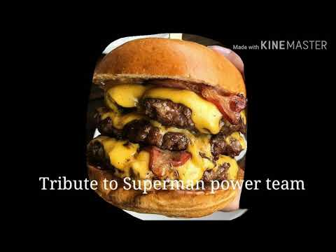 Tribute to Superman power team