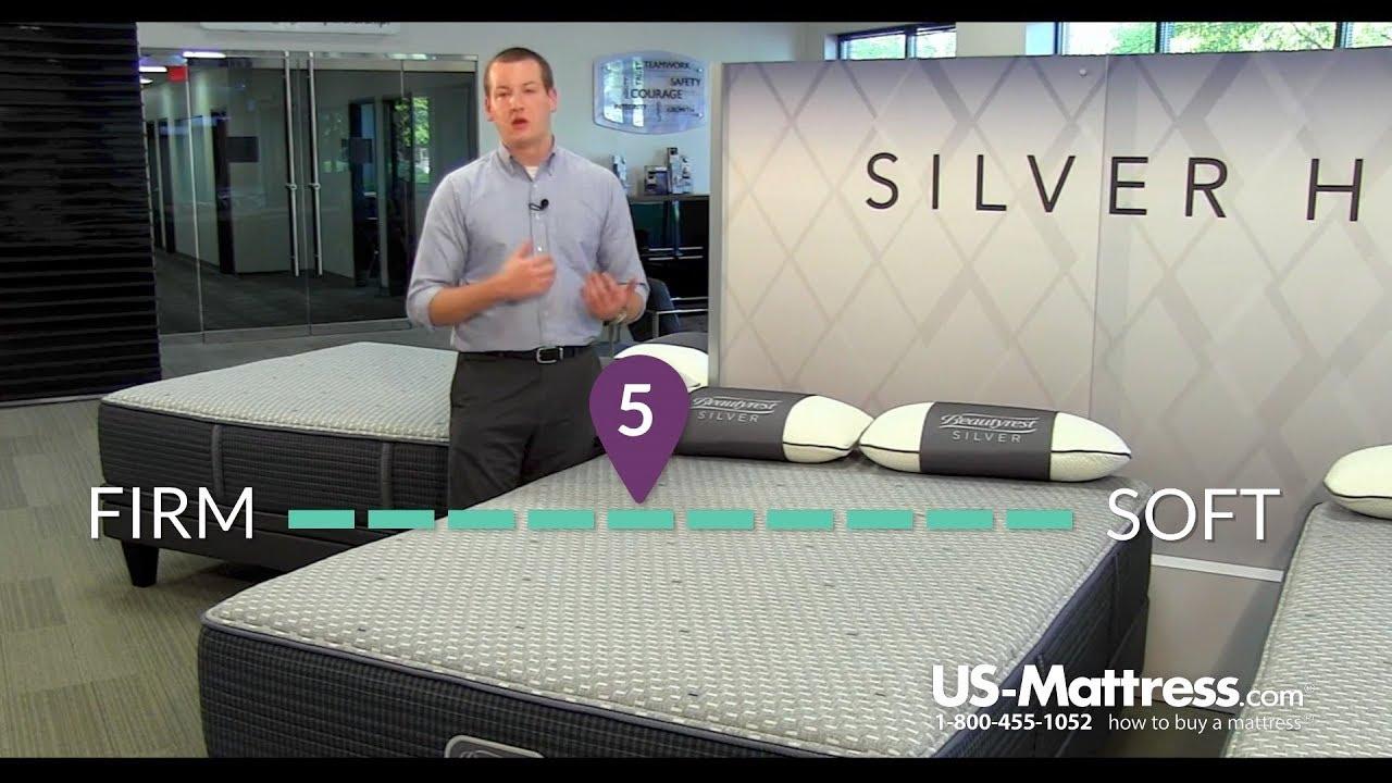 simmons beautyrest silver hybrid sybel iii plush mattress expert