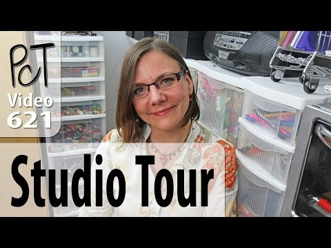 polymer-clay-tutor-studio-tour---organized-zones