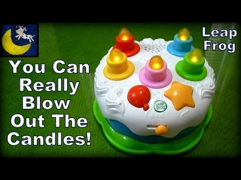 Leapfrog Counting Candles Birthday Cake Best First Toy