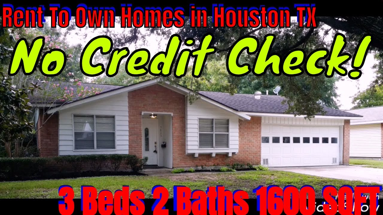 Rent To Own Homes in Houston TX | Lease Option | Owner Finance