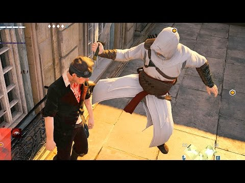 Assassin's Creed Unity Stealth & Combat With Altair`s Outfit