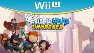 Wii U - Scribblenauts Unmasked - Trailer