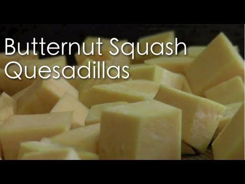 Vegan Butternut Squash Quesadillas