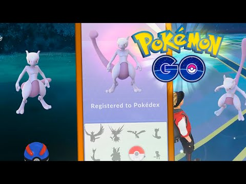 ¡¡PRIMER MEWTWO CAPTURADO En POKÉMON GO!! - ¿REAL O FAKE?