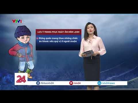 Không khí lạnh tăng cường, miền Bắc chuyển mưa rét dịp cuối tuần  | VTV24