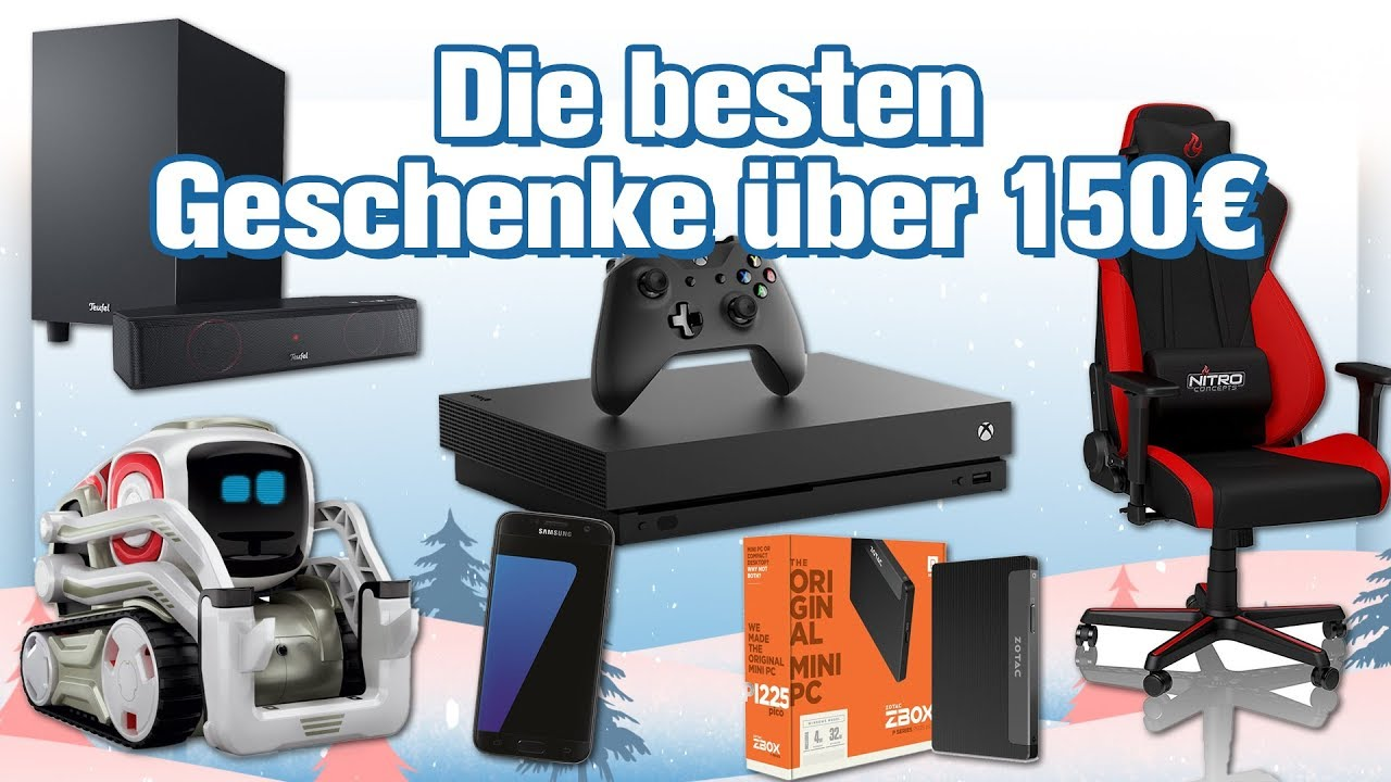 die 6 besten technik geschenke ber 150 euro weihnachten 2017 geschenke tipps youtube. Black Bedroom Furniture Sets. Home Design Ideas