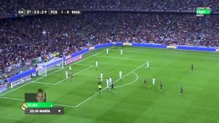FC Barcelona vs Real Madrid CF / 2 - 1 / 2do Tiempo (26/10/2013)
