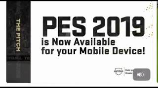 PES 2019 MOBILE OFFICIAL TRAILER RELEASED