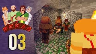 ПЕКЛО #3 - Спавнер работяг!   Выживание в Майнкрафт с друзьями