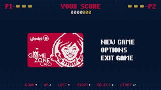Wendy's Georgia - Game Zone Card
