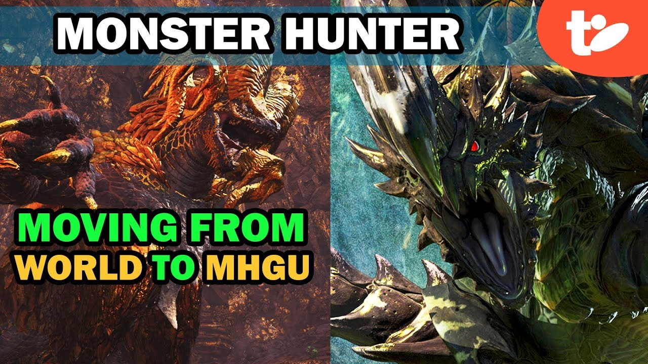 21 Things To Know When Making Switch From Monster Hunter World To Mhgu Technobubble Armor set search for monster hunter generations ultimate and double cross. monster hunter world to mhgu technobubble