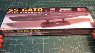 Lindberg USS Gato Submarine Model Kit 1/240 scale. Great kit for a ...