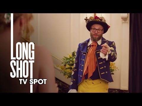 """Long Shot (2019 Movie) Official TV Spot """"Date Chemistry"""" – Seth Rogen, Charlize Theron"""