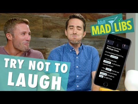 Make Me Laugh Challenge with Mad Libs