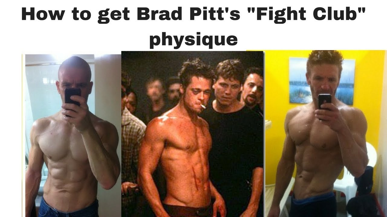 How to get Brad Pitt's Fight Club physique - YouTube