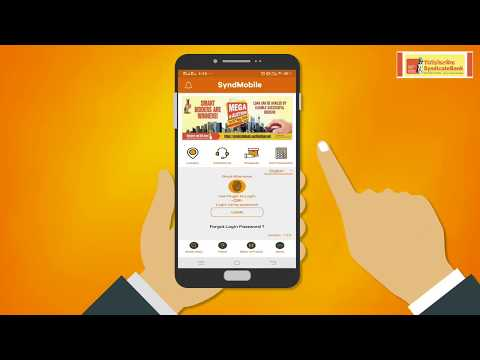 Syndicate Bank, Demo Video For Mobile Banking Application