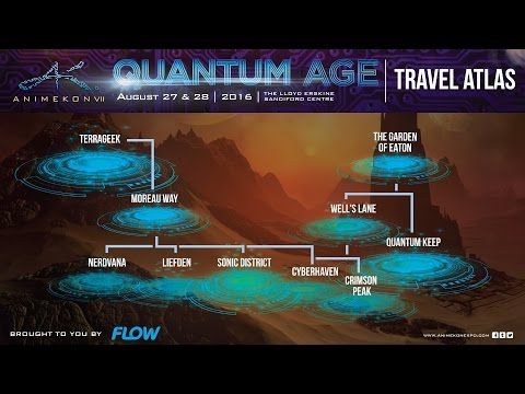 FLOW AnimeKon VII: Quantum Age Travel Atlas (Barbados)