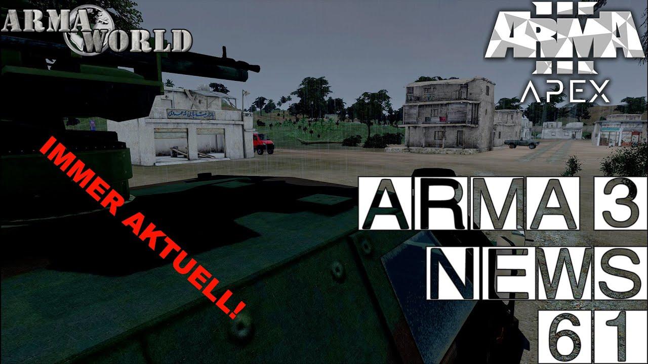 🔴 ► ARMA 3 APEX NEWS 61 ◄ Patch 1 64 - Project Reality Arma 3 - ACE3 3 8  [GERMAN]