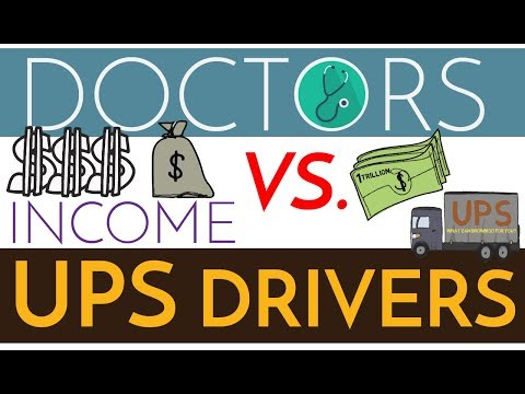 Are Doctors Rich? $$$ Physicians vs. UPS Drivers