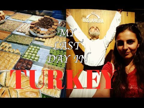 Trying Turkish Food - ISTANBUL - TRAVEL VLOG
