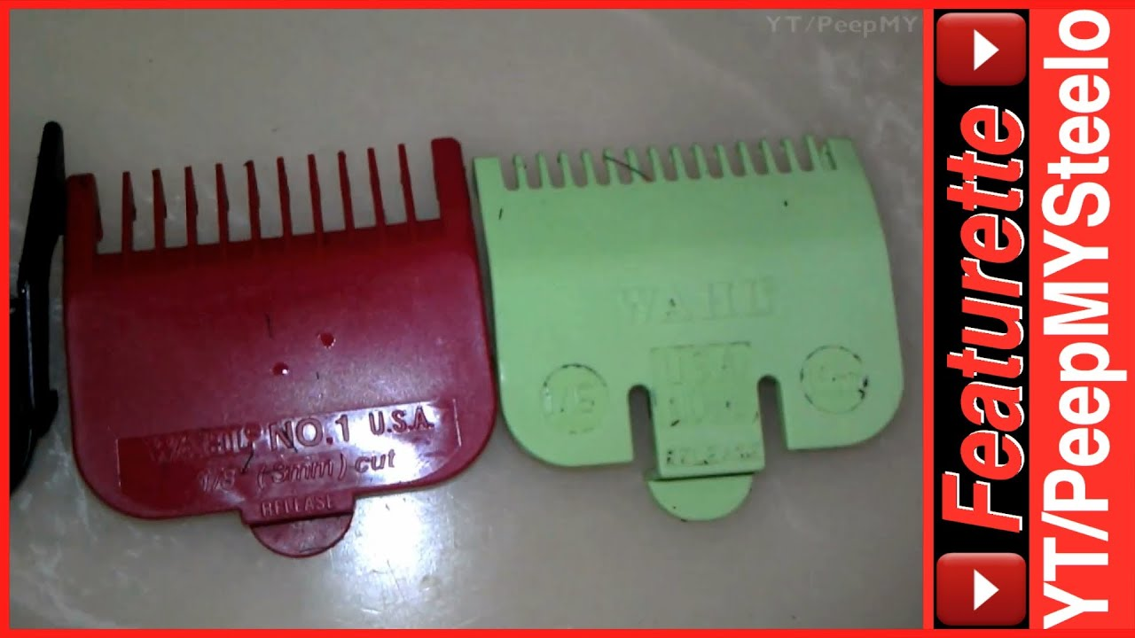 Wahl Clipper Guards Attachments Set W All Guard Parts Sizes To Classic Series 1 Usa Accessories Like Covers Or Lids