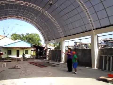 Roilo golez inspect golezeum covered court valley 8 for Covered basketball court design