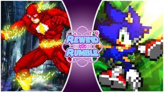 SONIC vs FLASH The Movie! (Sonic The Hedgehog vs The Flash Animation) | Rewind Rumble Movie