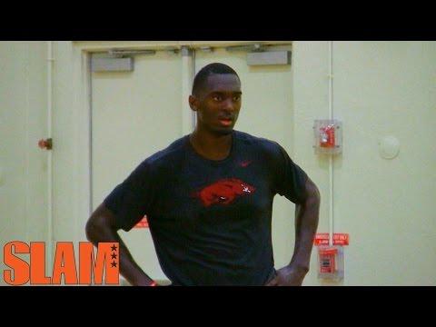 Bobby Portis 2015 NBA Draft Workout - First Round Pick NBA Draft 2015