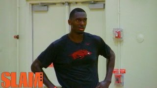 Bobby Portis 2015 NBA Draft Workout - First Round Pick NBA Draft 2015
