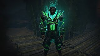 Path of Exile - Ghostflame Armour