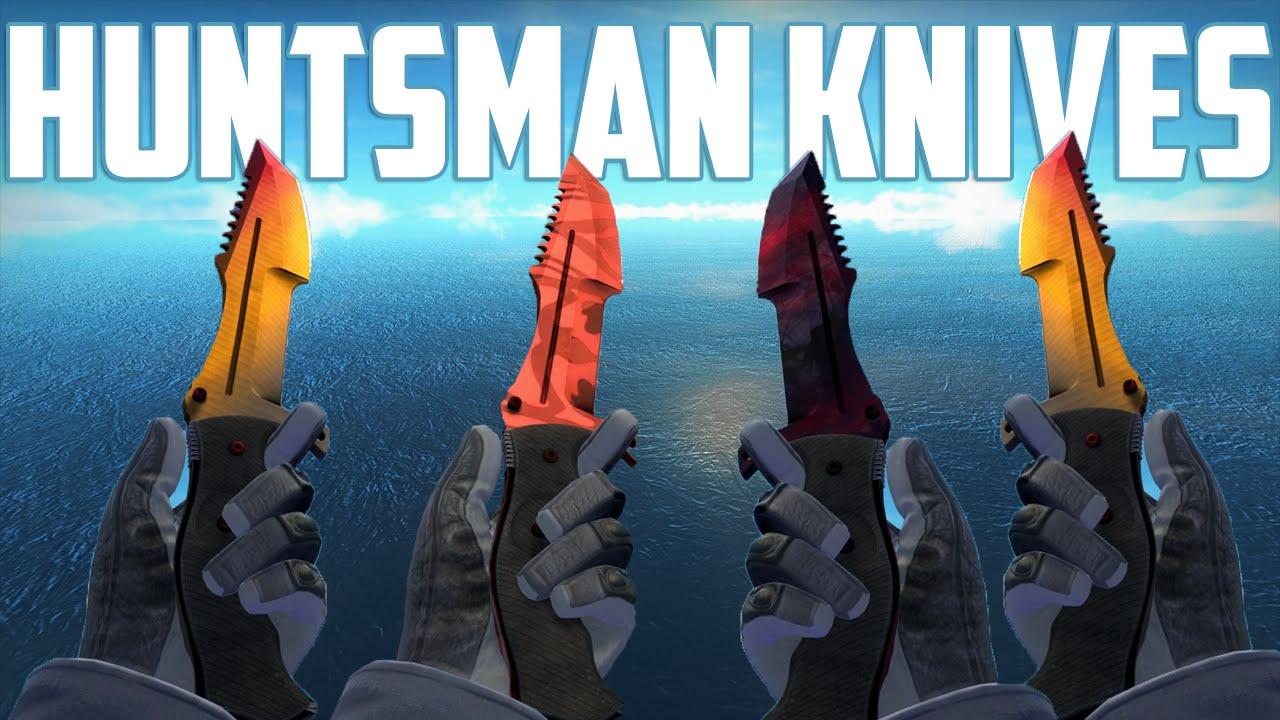 eb3a4d67ac1c CS GO - Huntsman Knives - All Skins Showcase + Price