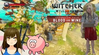 Witcher 3 Blood and Wine Episode 34 - Flint, Lies & Pigs?!