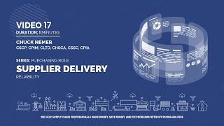 17. Supplier Delivery Reliability
