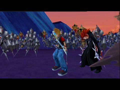 キングダム ハーツ II FINAL MIX: Dual-Wield Roxas & Axel vs 1000 Heartless (1080p Full-HD)