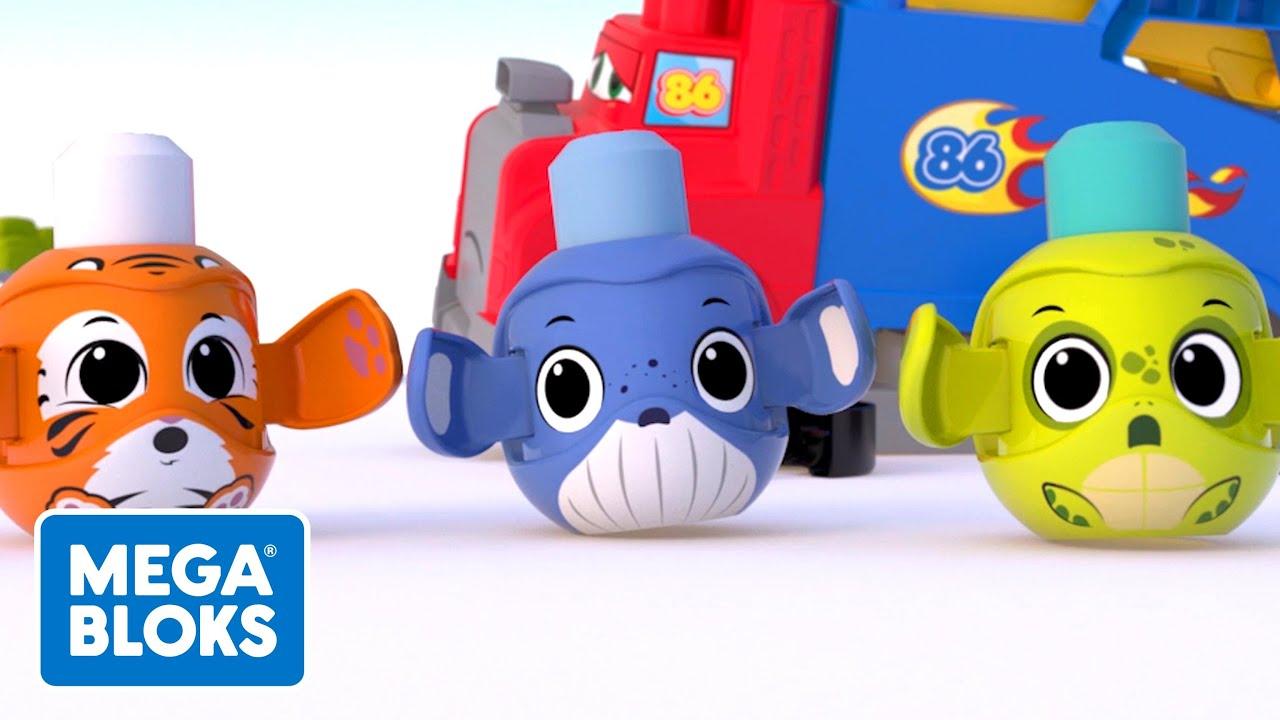 Download Mega Bloks™ - New Wheels + more   Cartoons For Kids   Fisher-Price   Learning For Kids