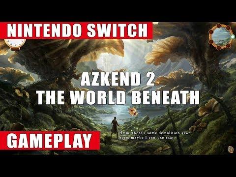 Azkend 2: The World Beneath Nintendo Switch Gameplay