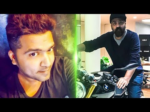 STR's New Look! | Simbu Trying out a BMW Super bike | TK 612