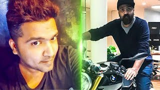 STR's New Look! | Simbu Trying out a BMW Super bike