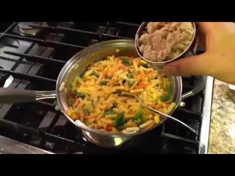KD Mac & Cheese With Tuna ~ Kitchen Charm Cookware Canada