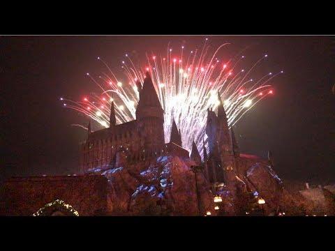 Universal Studios Hollywood Nye Fireworks 2017 18 Youtube