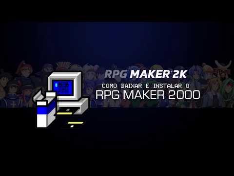 BAIXANDO E INSTALANDO O RPG MAKER 2000
