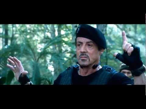 The Expendables 2 |  Most Epic Moments + Best Parts of Chuck Norris, Arnold & .....