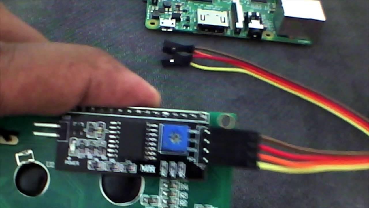 การต่อจอ LCD 20x4 กับ Raspberry Pi ด้วยภาษา Python