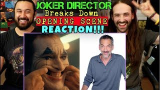 JOKER DIRECTOR Breaks Down the OPENING SCENE | Vanity Fair - REACTION!!!