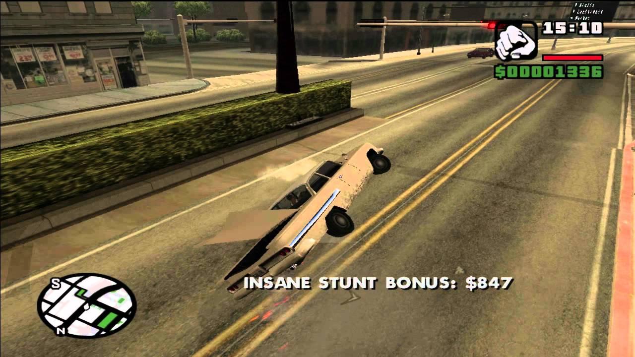 Flying Car Cheat Grand Theft Auto San Andreas Playstation