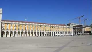 南欧の旅51コメルシオ広場 ポルトガル リスボン