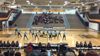 DanceFullOutMN - St Francis Dance Team Kick 2015
