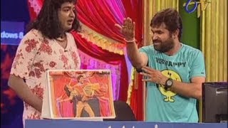 Jabardasth - Chalaki Chanti Performance on 4th July 2013